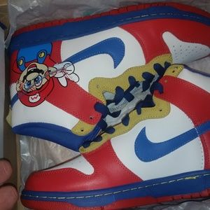Super Mario nike SB dunks